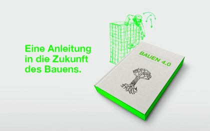 BAUEN4.0 website header