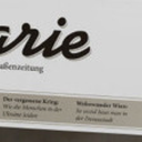 """marie""-Coverentwurf mit Blindtext.  Foto: marie"
